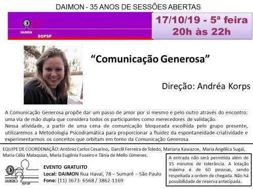 Evento-SOPSP Comunicação Generosa