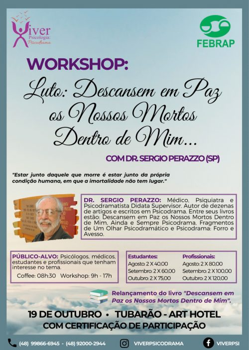 Evento-Viver Workshop Luto